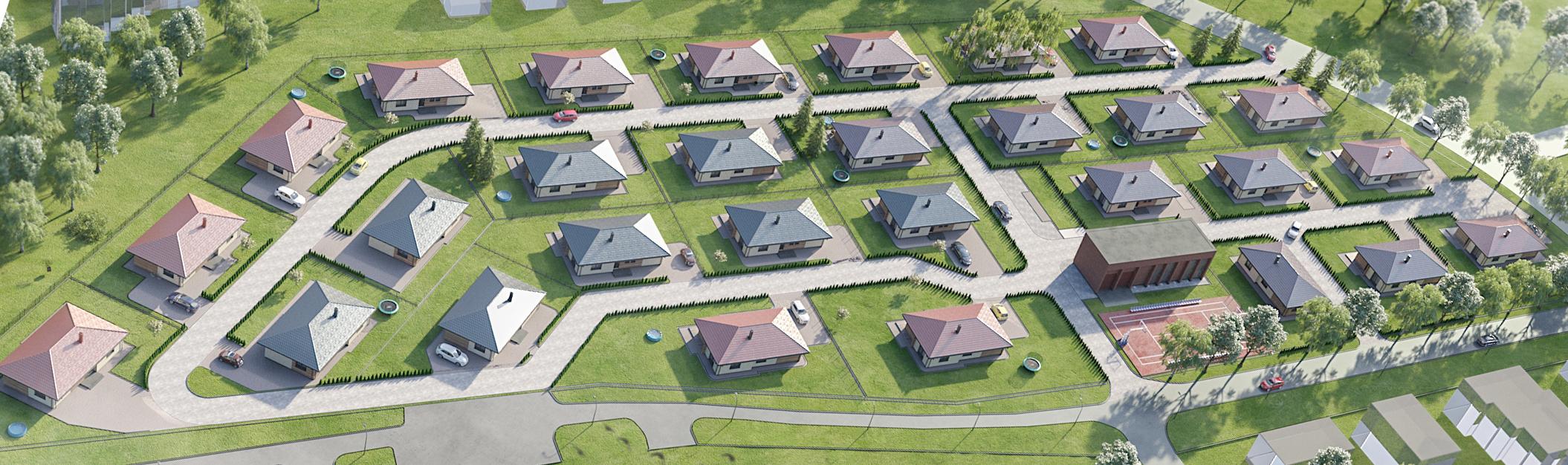 gyvenamuju namu kvartalas pajuryje sventojoje